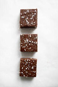 Sea salt & nutella fudge