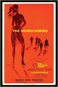Follow the link attached to this image and read my review of 'The Homecoming' by Harold Pinter.
