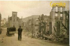 """Pinner wrote """"Is the 75th anniversary of the bombing of Gernica (April 26, 1937) was an aerial attack on the Basque town of Guernica, Spain, causing widespread destruction and civilian deaths, during the Spanish Civil War. The raid by planes of the German Luftwaffe """"Condor Legion"""" and the Italian Fascist Aviazione Legionaria was called Operation Rügen. Picasso's Guernica reminds us every day"""""""