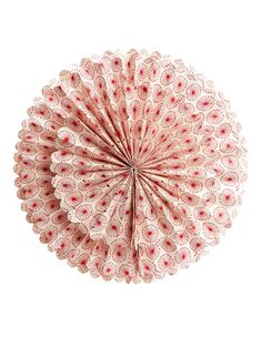 Afroart Paper Star 35 cm - Off White/Red - Seasonal - ARKET NL