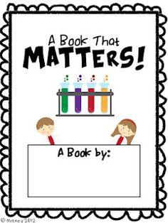 State of Matter Book matter book, classroom, teacher blogs, grade 5 science, states of matter, science notebooks, student book, book freebi, activity books