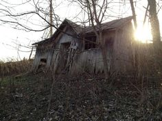 Old abandoned house in Ohio