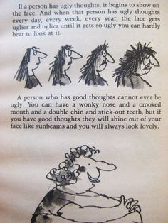 Roald Dahl....such a wise man.