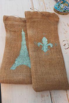 Shabby Chic Craft Corner: DIY Burlap Wine Bag Tutorial