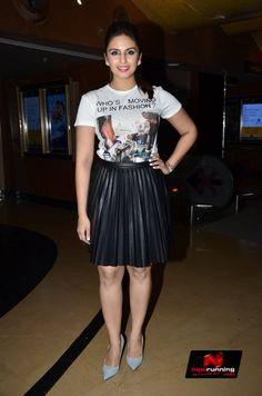 Huma Qureshi  at Ayushmann Khurrana's next Punjabi single 'Mitti Di Khushboo' launch