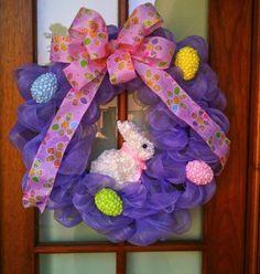 Hippity, Hoppity, Easter's on its way!!! 2 Sassy Mamas Easter wreath!
