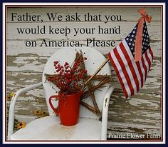 I pray for our country.  Please join me.