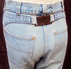 Hash jeans,  I had several pair.