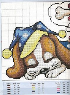 stitch dog, punto cruz, cross stitch, stitch anim, punto de cruz, dog cross