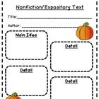 Graphic organizers to use during reading time.  These nonfiction organizers will help students identify the main idea and details in a text.  Once ...