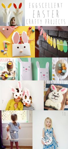 easter crafts, craft ideas, kid crafts, kids craft projects