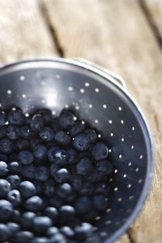 How to Make Blueberry Syrup:  A Canning Recipe. Looks like this is what I'll be doing the rest of the day..