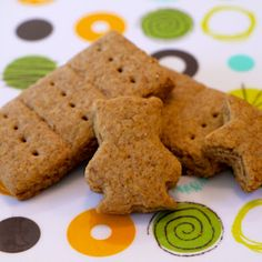 Homemade Graham Crackers: this is the recipe I love!!!!!