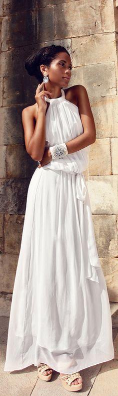 #Maxi.  Maxi Dresses #2dayslook #MaxiDresses #sunayildirim #watsonlucy723  www.2dayslook.com