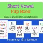 Short vowel flip book to chant short vowel phonemes. $