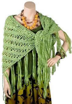 Paris Shawl - Free Crochet Pattern - (archive.berroco)