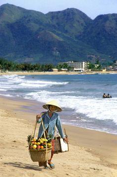Fruit vendor, Nha Trang, Vietnam