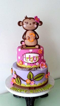 Monkey Girl Cake