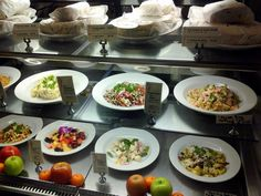 Display Case at Crocker Cafe . Supper Club