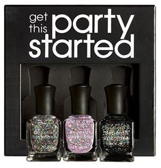 Deborah Lippman glitter set – must have for the holidays!