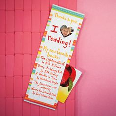 bookmark reading teacher, photo bookmark, teacher gifts, kid gifts, kid pictures, gift ideas, teacher appreciation gifts, gift cards, favorit read