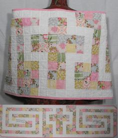 The Cross in the Labyrinth Quilted Prayer by patchworkflamingo