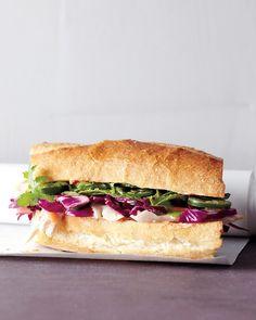 Asian Chicken Sandwich - Martha Stewart Recipes