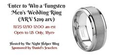 Tungsten Mens Weddin