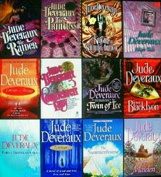 Love Love Love reading anything by Jude Deveraux.