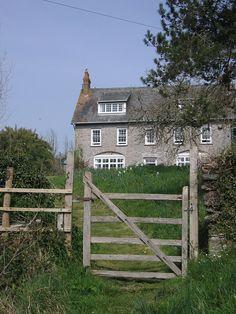 "~Efford House - South Devon, England (Barton cottage from the 1995 ""Sense & Sensibility"")~"