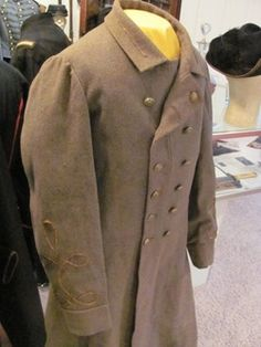 Confederate Overcoat in the North South Trader Civil War Magazine Vol