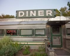 Roadside Diner photo, vintage, Americana, Country Diner - 8x10 fine art photograph. $25.00, via Etsy.