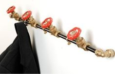 plumber coat hanger