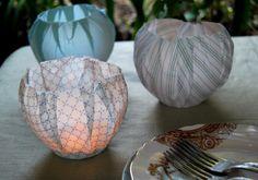 Fabric lanterns