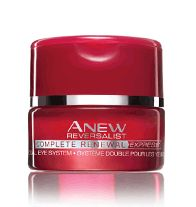ANEW REVERSALIST COMPLETE RENEWAL Express Dual Eye System - A brightening veil + hydrating eye cream, is formulated with Tri-Elastinex technology to enhance skin cells natural ability to renew, regenerate and reconstruct itself. Instantly brightens the eye area. Regularly $30.00, buy Avon Anew Reversalist online at http://eseagren.avonrepresentative.com
