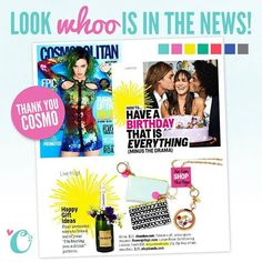 Origami Owl in Cosmo! Click on the pic to order yours today.
