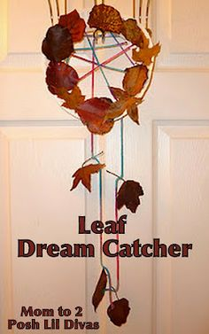dream capture with leaves...