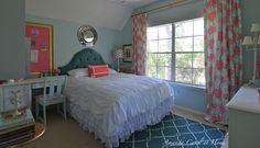 Daughter room reveal #DIY #roomreveal #girlyspaces