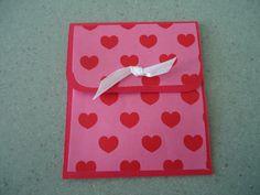 Heart Gift Card Holder, Love Gift Card Holder, Valentine's Gift Card Holder, Anniversary Gift Card Holder via Etsy.