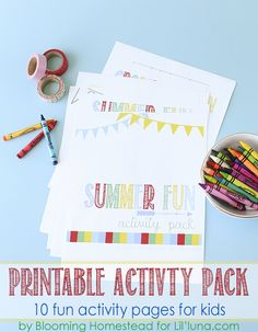 Summer Fun Activity