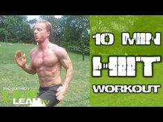 10 Minute Bodyweight Fat Torching HIIT Workout - YouTube