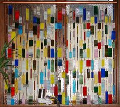 Colorful Stained Glass Curtain/Panel CUSTOM ORDER