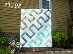 Zippy QuiltTutorial on the Moda Bake Shop. http://www.modabakeshop.com