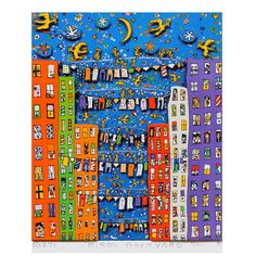 rizzi | bn3i GmbH Bild James Rizzi – Birds Backyard | design3000.de