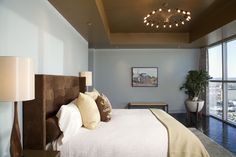 Four Seasons Mod - Master Bedroom - contemporary - bedroom - austin - Cravotta Studios -Interior Design