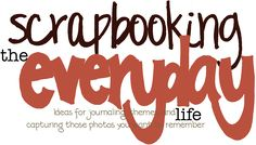 Journaling Prompts.... a long list of ideas to use... scrapbooking your everyday life.... above the special occasions