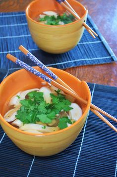 Cambodian Hot and Sour Mushroom Soup