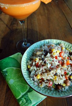 Perfect BBQ side dish: Summer Time Rice Salad | by: Totes Yummy!
