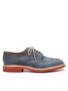 love me some brogues, which reminds me I need new dress shoes // Logan Derby Brogues by Loake on Park & Bond