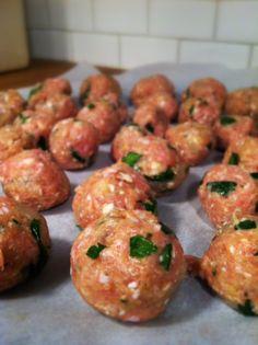 Gluten free turkey meatballs